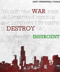 I actually liked Insurgent better than Divergent, anyone agree?    Quote from #Divergent book number 2 #Insurgent!