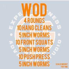 Wiggle Worm WOD