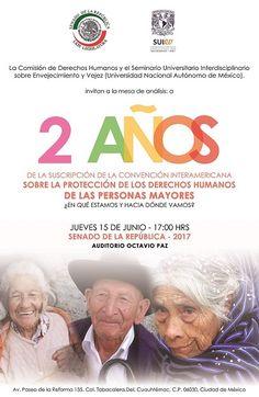 México: A dos años de la suscripción de la Convención Interamericana sobre Protección de los Derechos Humanos de las Personas Mayores   Central Informativa del Adulto Mayor