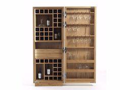 Mueble bar de madera CAMBUSA WINE SMALL