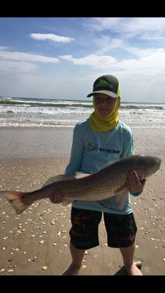 Strong Angler Challenge - [U.S. Open] - Kid catching a redfish. #redfish