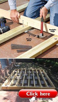 Cool Deck, Diy Deck, Cheap Diy Home Decor, Diy Home Crafts, Deck Decorating, Project Ideas, Projects, Deck Design, Decks