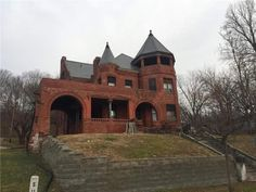 Abandoned Mansion For Sale, Abandoned Mansions, Abandoned Houses, Old Houses, Abandoned Places, Abandoned Castles, Haunted Places, Saint Joseph Missouri, St Joseph Mo
