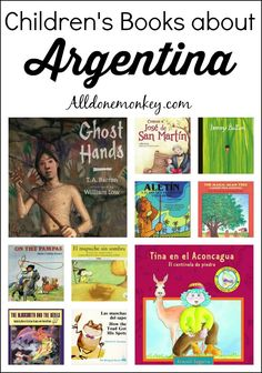 Children's books about Argentina, including legends, folktales, and contemporary stories.