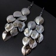 Earrings Charmille Anthracite