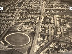 The Gabba with cycling track Brisbane Queensland, Queensland Australia, My Ancestry, Amazing Pics, Old Photos, City Photo, The Past, History, Cycling