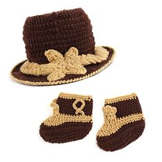 Sale 23% (4.51$) - Crochet Knitted Knight Jazz Baby Boy Girl Photographic prop Hat Cap