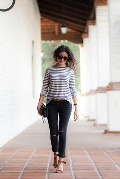 Warm Weather Stripes - Alterations Needed
