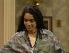 Denise Huxtable play by Lisa Bonet on The Cosby Show