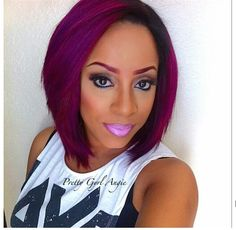 Weave Inspiration Berry Bob! ★ for hair tips and more follow TrackStarHoney!★