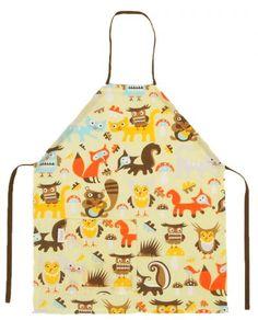 Mairo Woodland apron. Designed by Sandra Isaksson.