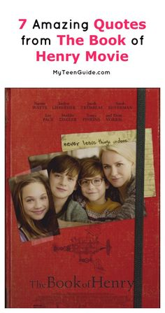 Get ready for 7 of the most beautiful and epic The Book of Henry movie quotes yo. Get ready for 7 of the most beautiful and epic The Book of Henry m. Best Books To Read, Books To Read Online, Good Books, Movie Quotes, Book Quotes, Funny Quotes, The Book Of Henry, Good Movies To Watch, Kids Laughing