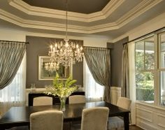 Oakley Home Builders.  Love the detail in the tray ceiling.