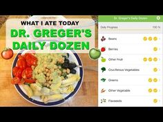 What Dr Michael Greger Eats In A Day + The Daily Dozen - YouTube