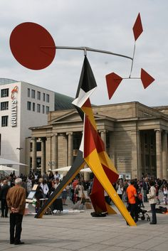Calder Sculpture Stuttgart, Germany