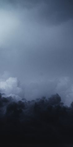 Lightning, dark, sky, clouds, storm, 1080x2160 wallpaper