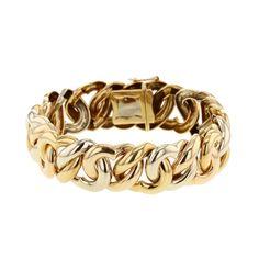 Poiray bracelet Coeurs Entrelacés 3 ors
