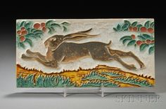 Delft Rabbit Tile - adore it, can't afford it