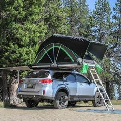 High Country Edition Medium - built in awning- by Go FSR Camping Set Up, Best Tents For Camping, Cool Tents, Tent Camping, Camping Hacks, Camping Ideas, Volkswagen New Beetle, Volkswagen Golf, Glamping