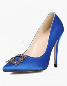 Knockoff Manolo Blahnik Blue Satin Pumps Replicas $29.99 on http://www.shoeaholicsanonymous.com/knockoff-manolo-blahnik-something-blue-satin-pumps-replicas/