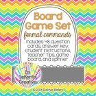 Spanish Board Game Set - formal commands