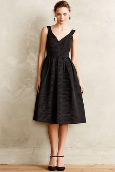 Embossed Jacquard Party Dress - anthropologie.com