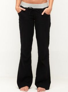"Roxy Women's ""sun Rise"" Pants- Black"
