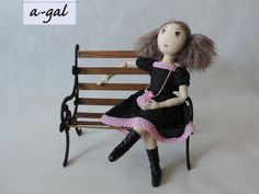 cloth doll handmade by a-gal.com