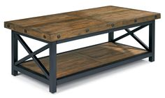 Carpenter Rectangle Cocktail Table by Flexsteel