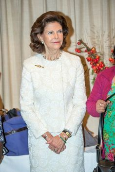happyswedes: Queen Silvia participated in the forum for Child 10, awards for those fighting against child trafficking, at the Grand Hotel, Stockholm November 3, 2014