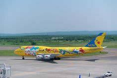 (mu_mu_ via Getty Images) World's Weirdest Airlines: ANA is for Pokémon fans far and wide who can fly in a themed jet with ANA on routes such as Tokyo to Frankfurt and Tokyo to Paris. The planes feature characters including Pikachu, Togepi, Mew and Snorlax, with in-flight treats ranging from juice served in Pokémon cups and flight attendants wearing colourful poké-aprons.