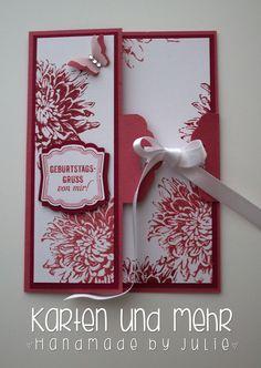 Stampin' Up! Tag Topper Karte, SU Aus dem Garten der Freundschaft  www.handmadebyjulie.de