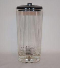 Vintage Pyrex Waring Model Clover Shape Blender Glass Pitcher Replacement w/Lid #WaringPyrex **SOLD**