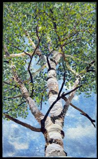 A Year Under the Aspens, Summer by David Taylor Quilts | Steamboat Springs, Colorado