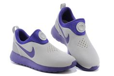 Nike Roshe Run Womens Gray Purple Shoes. What are these!!!???