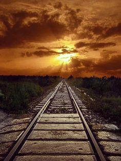 Train Tracks. Romania. Photo by amazing.destination. Source instagram.com