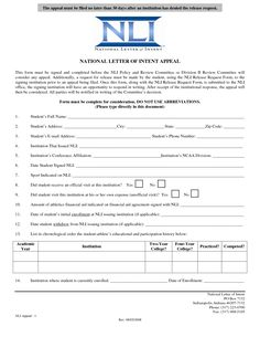 National Letter Of Intent Template,National Letter Of Intent Signees  Letter Of Intent To Purchase Goods