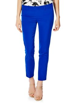 A great way to lengthen those stems, the crop side zip pant features belt loops and back pockets for added flare. l JustFab