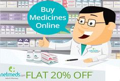 #Netmeds #Offer: Flat 20% discount on #Prescription #drugs using #coupons.