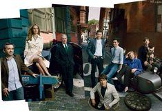 Photo: Annie Leibovitz New York's Silicon Alley | Vanity Fair - Ariana Huffington Makeup - Elaine Madelon