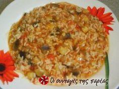 Ένα πεντανόστιμο και υγιεινό ριζότο που η γεύση του και το άρωμά του θυμίζουν γεμιστά, με τη διαφορά ότι είναι γρήγορο και πανεύκολο.