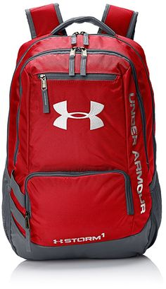 3a9ae14722 Under Armour Storm Hustle II Backpack Red 1263964 Water Resistant