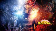 ... Boku No Hero Academia Wallpaper - Todoroki by Redeye27