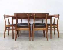 Danish teak dining suite - The Vintage Shop