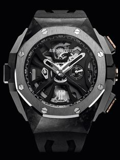 News: Introducing the Audemars Piguet Royal Oak Concept Laptimer Michael Schumacher. The World's First Mechanical Chronograph with Independent Memory and Three Column Wheels. — WATCH COLLECTING LIFESTYLE