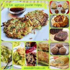 10 healthy, kids approved great zucchini recipes - Kiddie Foodies.