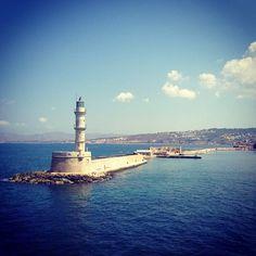 Chania Lighthouse by Vlad ik, via 500px