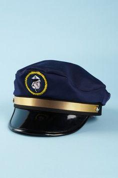Tom and Drew Captain's Hat