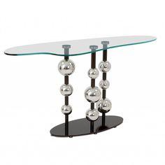 Rain drop console table
