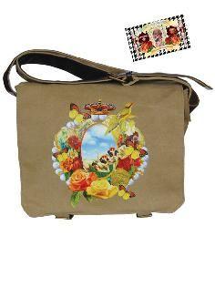 Een hippe canvas tas van De Kunstboer.
